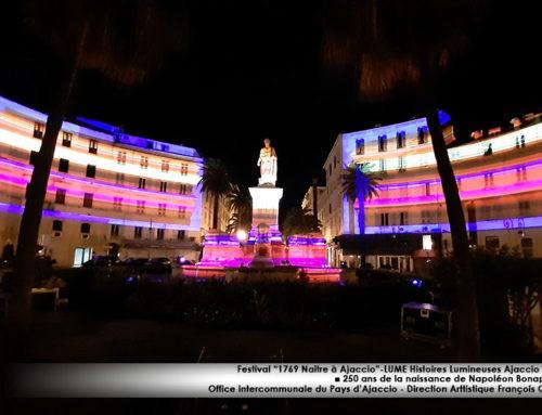 Festival Lume «1769 Naître à Ajaccio» : Ajaccio fête les 250 ans de la naissance de Napoléon