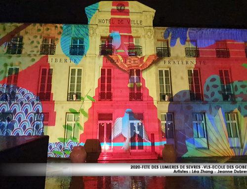 Mapping Fête des lumières de Sèvres 2020