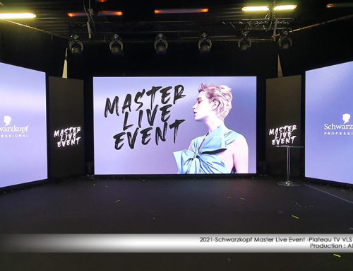 Studio TV VLS BUC – Schwarzkopf Master Live Event 29 mars 2021