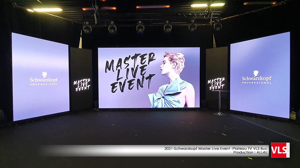 Studio TV VLS BUC - Schwarzkopf Master Live Event 29 mars 2021