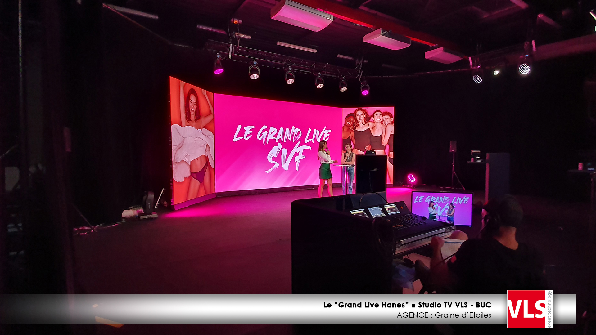 Studio TV VLS Le grand live Hanes