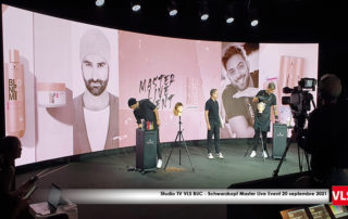 Studio TV VLS BUC - Schwarzkopf Master Live Event 20 septembre 2021