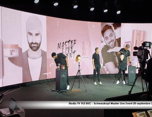 Studio TV VLS BUC – Schwarzkopf Master Live Event 20 septembre 2021