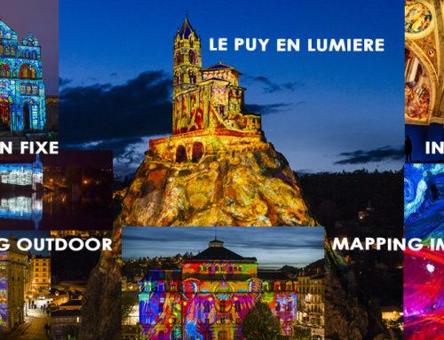 Installation pérenne de solutions audiovisuelles de mapping du «Puy de Lumières»